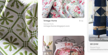 How To Use Pinterest For Quilts and Quilting